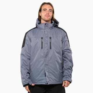 Pulse Men's Carbon Black Crest Insulated Jacket