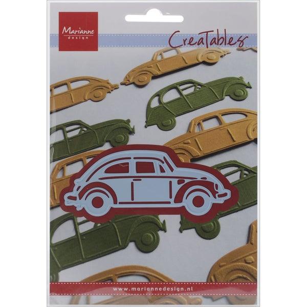 """Marianne Design Creatables Die-VW Beetle, 3.5""""X1.25"""""""