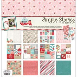 "Simple Stories Simple Sets Collection Kit 12""X12""-Hugs & Kisses"
