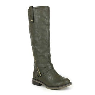 Mark and Maddux Women's 'Don-02' Motorcycle Boots