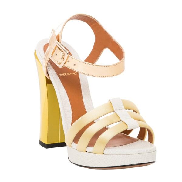 Fendi Chameleon Platform Sandal