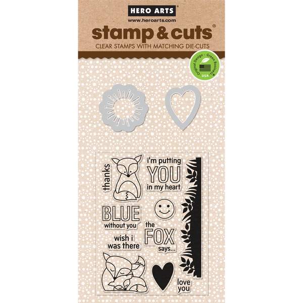 Hero Arts Stamp & Cuts-The Fox Says