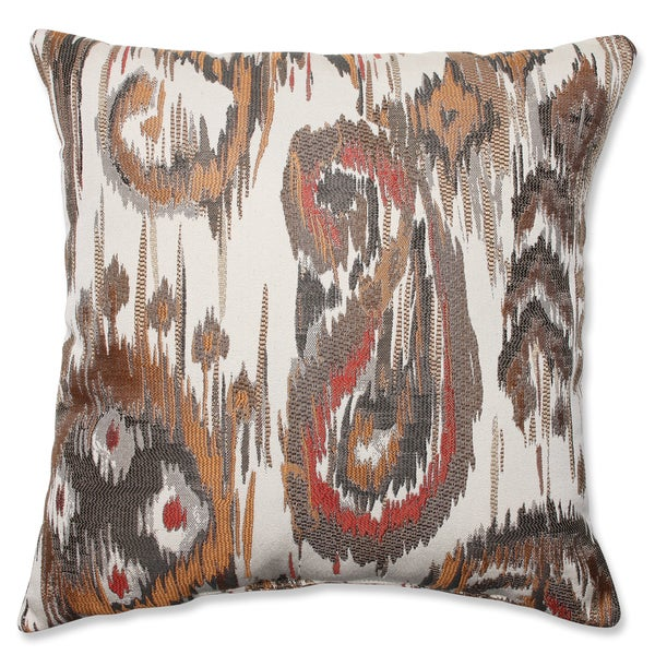 Pillow Perfect Sonata Bronze Throw Pillow
