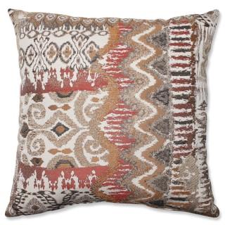 Pillow Perfect Medley Bronze Throw Pillow