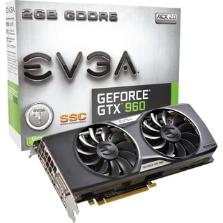 EVGA GeForce GTX 960 Graphic Card - 2 GB GDDR5 SDRAM - PCI Express 3.