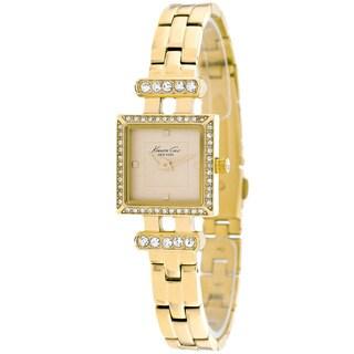 Kenneth Cole Women's KC4962 Classic Square Goldtone Bracelet Watch