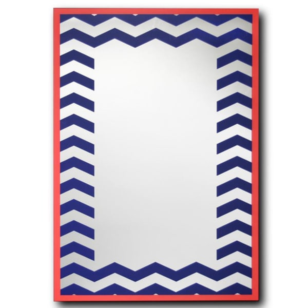 Patterned Decorative Wall Mirror 20 Quot X 28 Quot 16964603