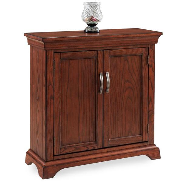 Mission Foyer Cabinet : Traditional foyer cabinet hall stand with adjustable