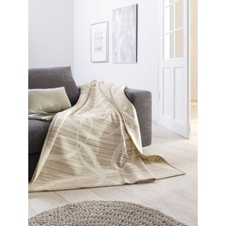 Solare Illusion Stripes Oversized Throw