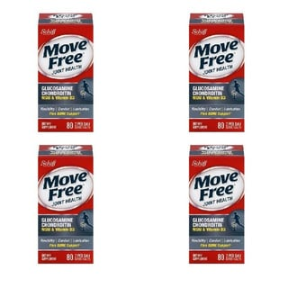 Schiff Move Free Glucosamine Chondroitin Joint Health Supplements (80 Count)