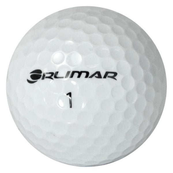Orlimar Logo Overrun White Golf Balls (Pack of 24)