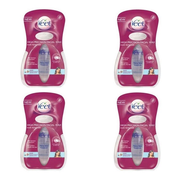 Veet High Precision .5-ounce Facial Wax Hair Remover (Pack of 4)