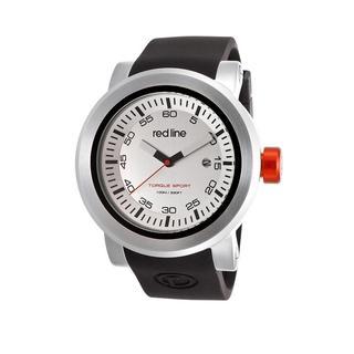 Red Line Men's RL-50049-02S Torque Silvertone Watch