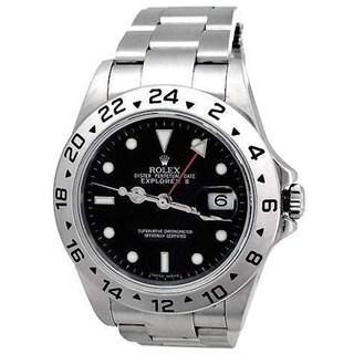 Pre-Owned Rolex Men's 16570 Explorer II Stainless Steel Watch