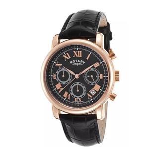 Rotary Men's ROTARY-GS03710-10 Chronograph Black Watch