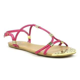 Mark and Maddux Women's Andrew-01-Z Cross-strap Sandals