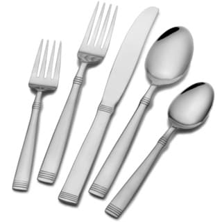 Pfaltzgraf Home Basics 77 Piece Flatware Set Palisade