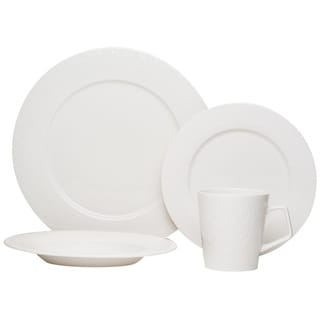 Red Vanilla Lunar White 16 Piece Dinner Set