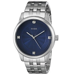 Guess 'Classic' Men's U0538G1 Stainless Steel Watch