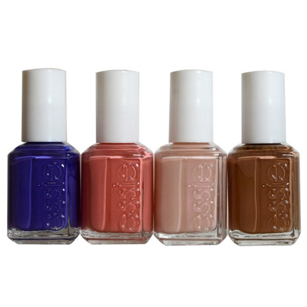 Essie 2015 Resort Collection 4-piece Nail Polish Kit