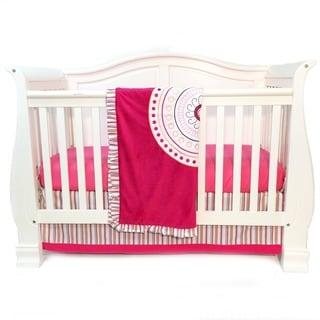 One Grace Place Sophia Lolita Infant 3-piece Crib Bedding Set