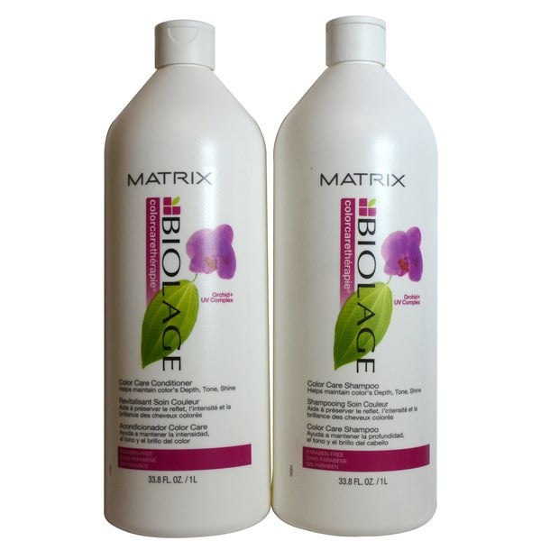 Matrix Biolage Color Care 33.8-ounce Liter Shampoo and Conditioner Duo