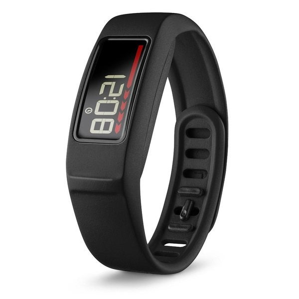 Vivofit 2 Activity Tracker with Move Bar and Alerts + Heart Rate Monitor Bundle (Black)