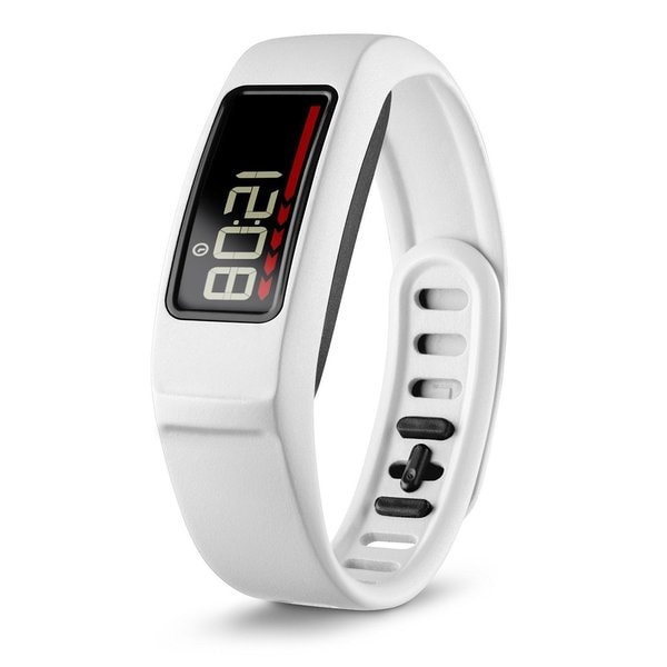Vivofit 2 Activity Tracker with Move Bar and Alerts + Heart Rate Monitor Bundle (White)