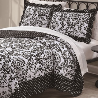 Dommato Damask 3-piece Quilt Set