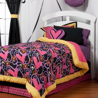 Sassy Shaylee Cotton 4-piece Bed in a Bag Set