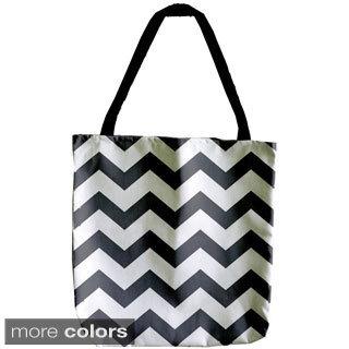 Geometric Chevron 18-inch Tote Bag