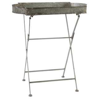 Helen Antiqued Folding Tea Table