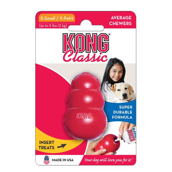 Kong Classic Red X-Small Dog Toy