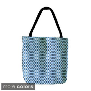 Small Diamond Geometric 18-inch Tote Bag