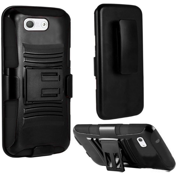 INSTEN Dual Layer Hybrid PC/ Soft Silicone Holster Phone Case Cover For Sony Xperia Z3 Compact
