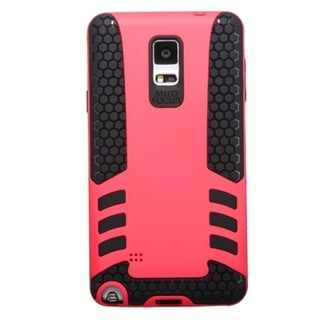 INSTEN Dual Layer Hybrid Rubberized Hard PC/ Soft Silicone Phone Case Cover For Samsung Galaxy Note 4