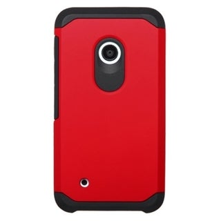 INSTEN Dual Layer Hybrid Rubberized Hard PC/ Soft Silicone Phone Case Cover For Nokia Lumia 530