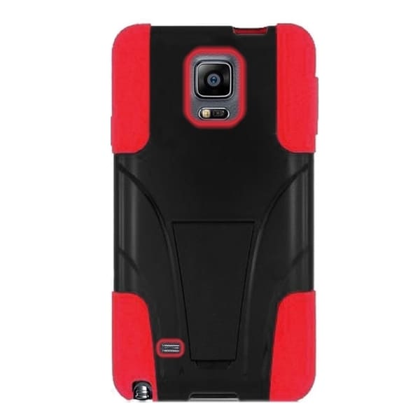 INSTEN Dual Layer Hybrid PC/ Soft Silicone Phone Case With Stand For Samsung Galaxy Note Edge
