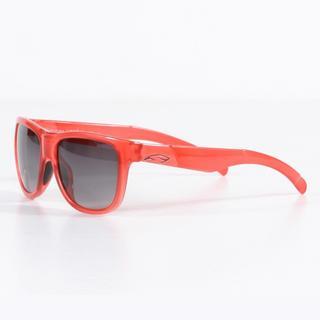 Smith Women's Crystal Poppy Lowdown Slim Sunglasses with Gray Gradient Lenses