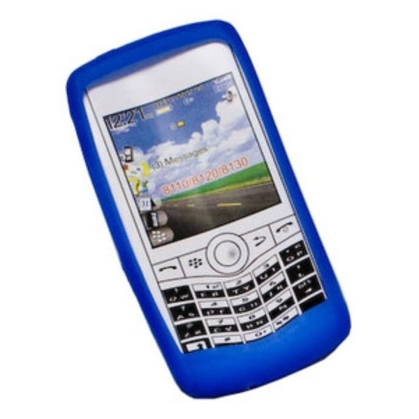 Syba Rubber Soft Silicone Skin Gel Phone Case Cover For BlackBerry Pearl 8100/ 8120/ 8130