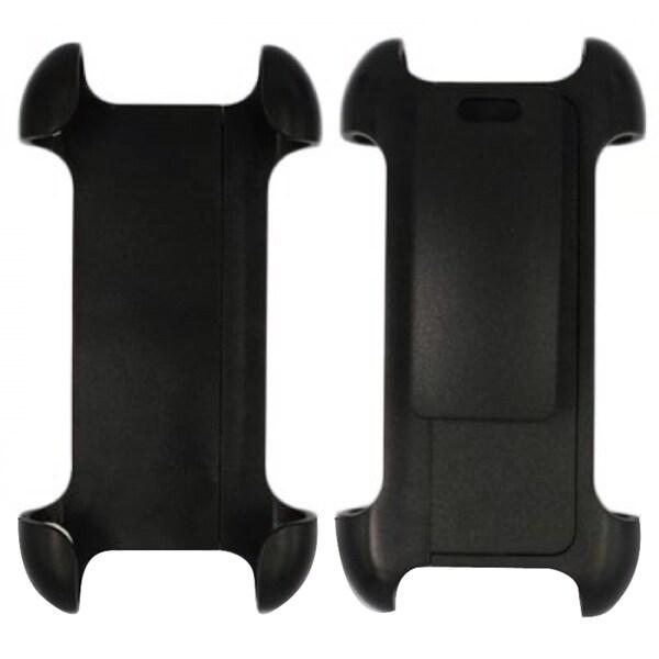INSTEN Rubberized Hard Plastic Plastic Slim Snap-on Holster Belt Clip