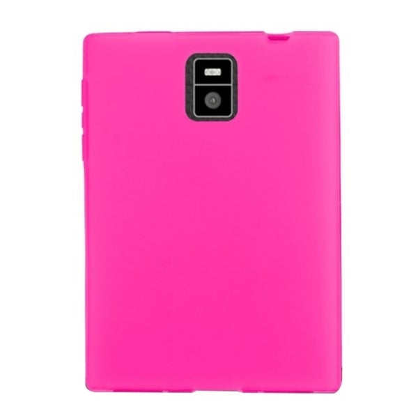 INSTEN Plain TPU Rubber Candy Skin Phone Case Cover For BlackBerry Passport