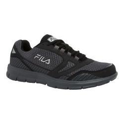 Men's Fila Direction Running Shoe Castlerock/Black/Metallic Silver