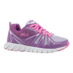 Girls' Fila Poseidon Running Shoe Pastel Lilac/Dewberry/Sugar Plum