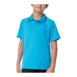 Boys' Fila Pro Polo Shirt Ocean Blue/Black