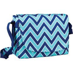 Children's Wildkin Laptop Messenger Bag Zigzag Lucite