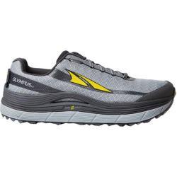 Men's Altra Footwear Olympus 2.0 Trail Shoe Silver/Cyber Yellow