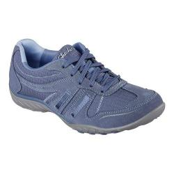 Women's Skechers Relaxed Fit Breathe Easy Jackpot Sneaker Blue