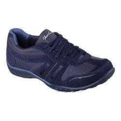 Women's Skechers Relaxed Fit Breathe Easy Jackpot Sneaker Navy