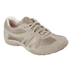 Women's Skechers Relaxed Fit Breathe Easy Jackpot Sneaker Taupe
